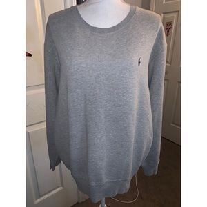 Men's Gray Polo by Ralph Lauren Sweatshirt 🤍